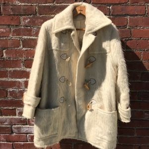 70's Bill Haire Friedricks Lambs Wool Fest Coat